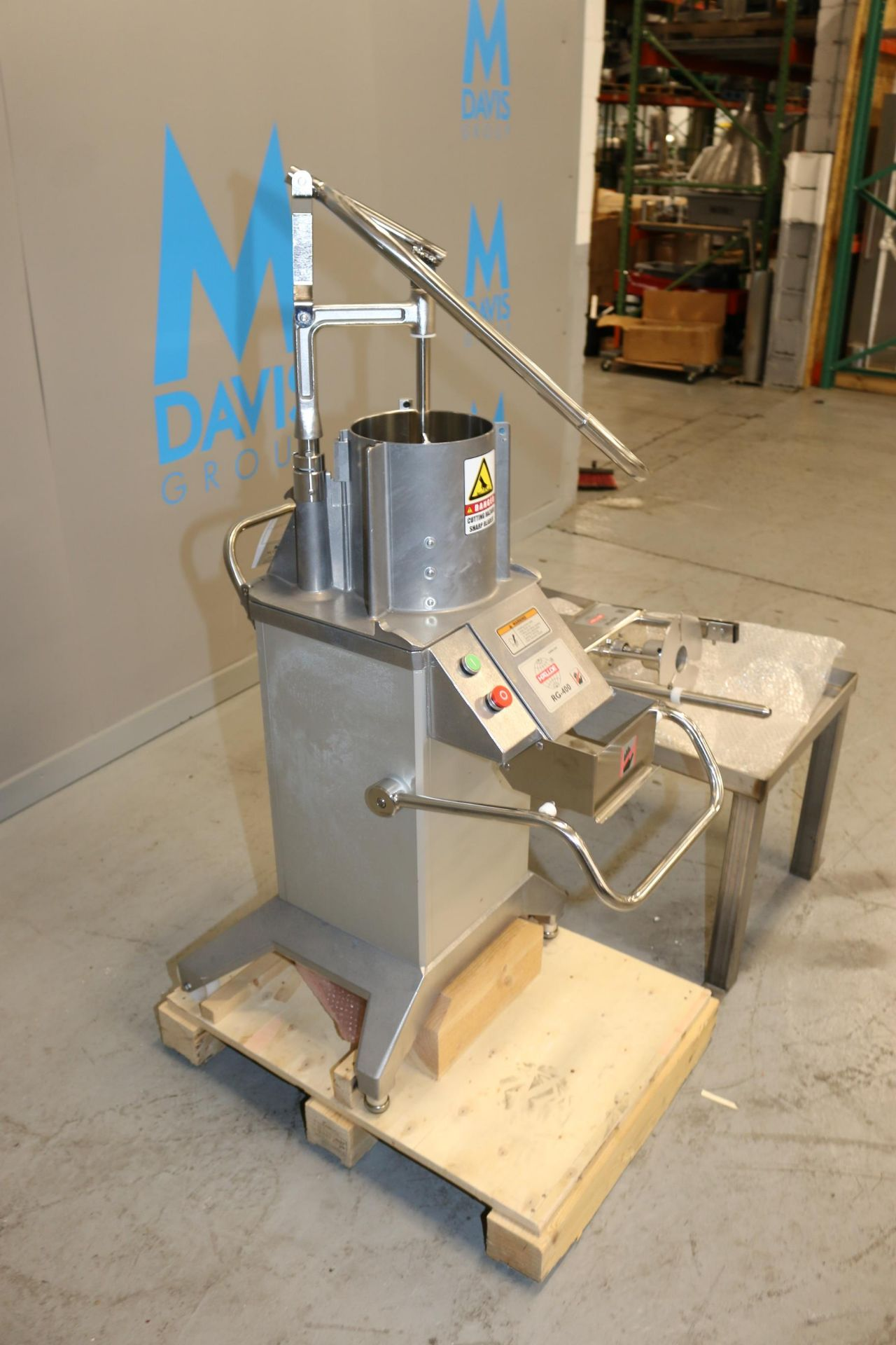 Lot 39 - Hallde S/S Vegetable Preparation Machine, M/N RG-400, S/N 1233599, 208-240 Volts, 0.9/1.6 hp