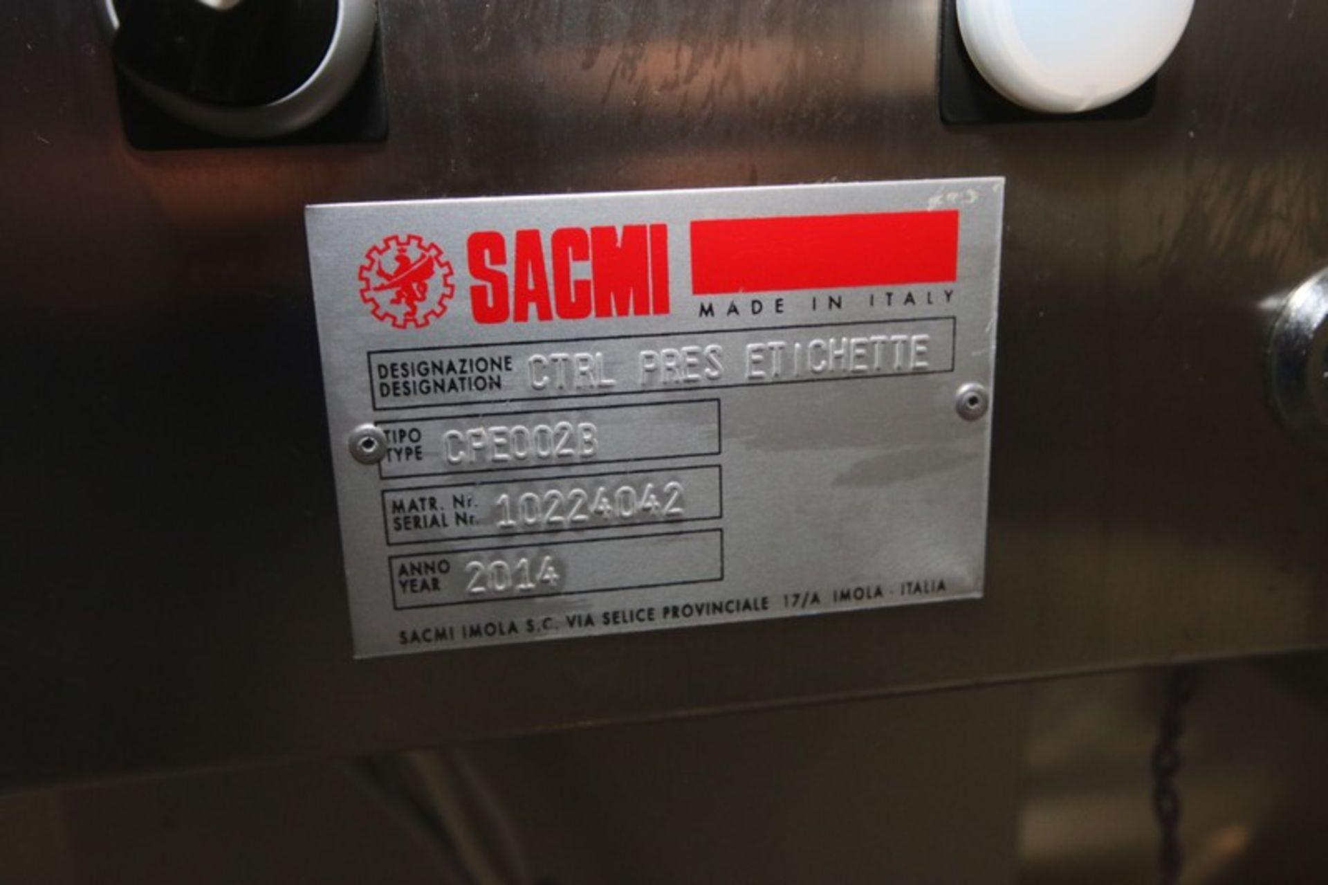 "Lot 11 - 2014 Sacmi Vision Inspection System, M/N LVS 360, Type: CPE002B, S/N 10224042, Aprox. 10"" W x 16"""