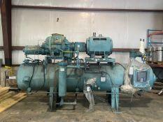 Frick 500 hp Rotary Ammonia Screw Compressor, Model/Serial No.: TDSH233L1926F, Refrigerant: R717/