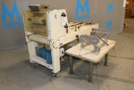 Adams Equipment Corp. Double Extruder, M/N LR-67, S/N 585-83, 220 Volts, 3 Phase, with Installed