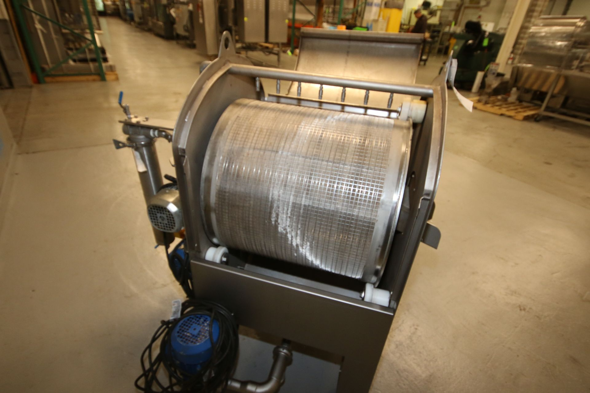 """Lot 31 - 2012 Le Materiel Pera S/S Sifter, Type PRF600, S/N 105583, with PALL S/S Filter, Aprox. 21"""" L x 3-"""