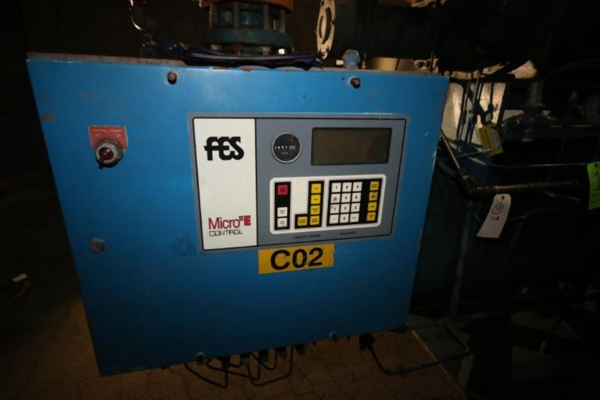 Lot 20 - FES 400 hp Screw Ammonia Compressor, MainFrame 1982, Frame #80236, with Stellar 2011 Rebuilt Screw