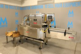 Mallet S/S Cake Pan Greaser, M/N 400C-FT 91777, S/N 123-428, 460 Volts, 3 Phase, with Touchscreen