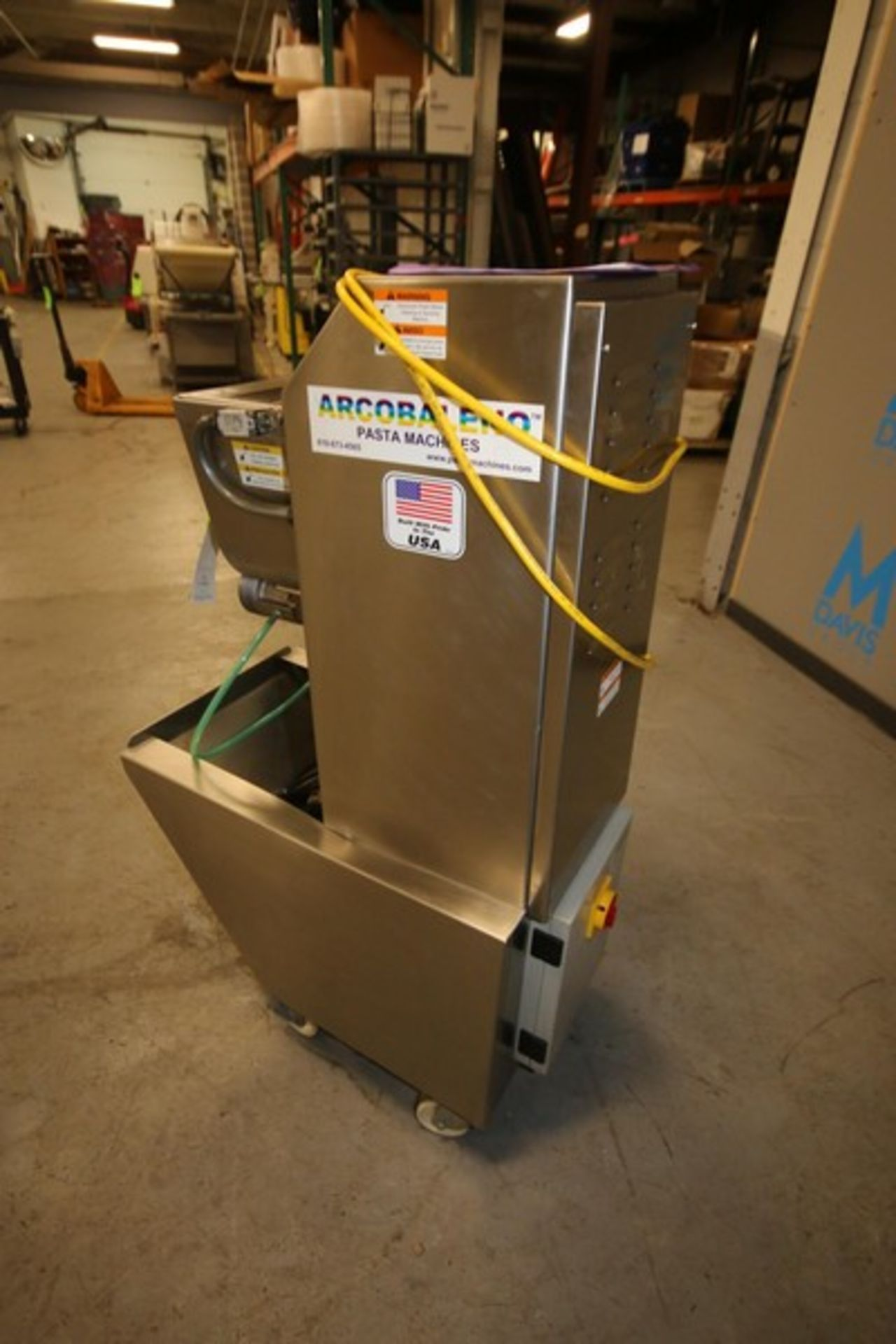 Lot 2 - Arcobaleno Pasta Machines 50 lb. Pasta Extruder, Model EX18, S/N 7003, 220V (IN#65954) (LOCATED AT