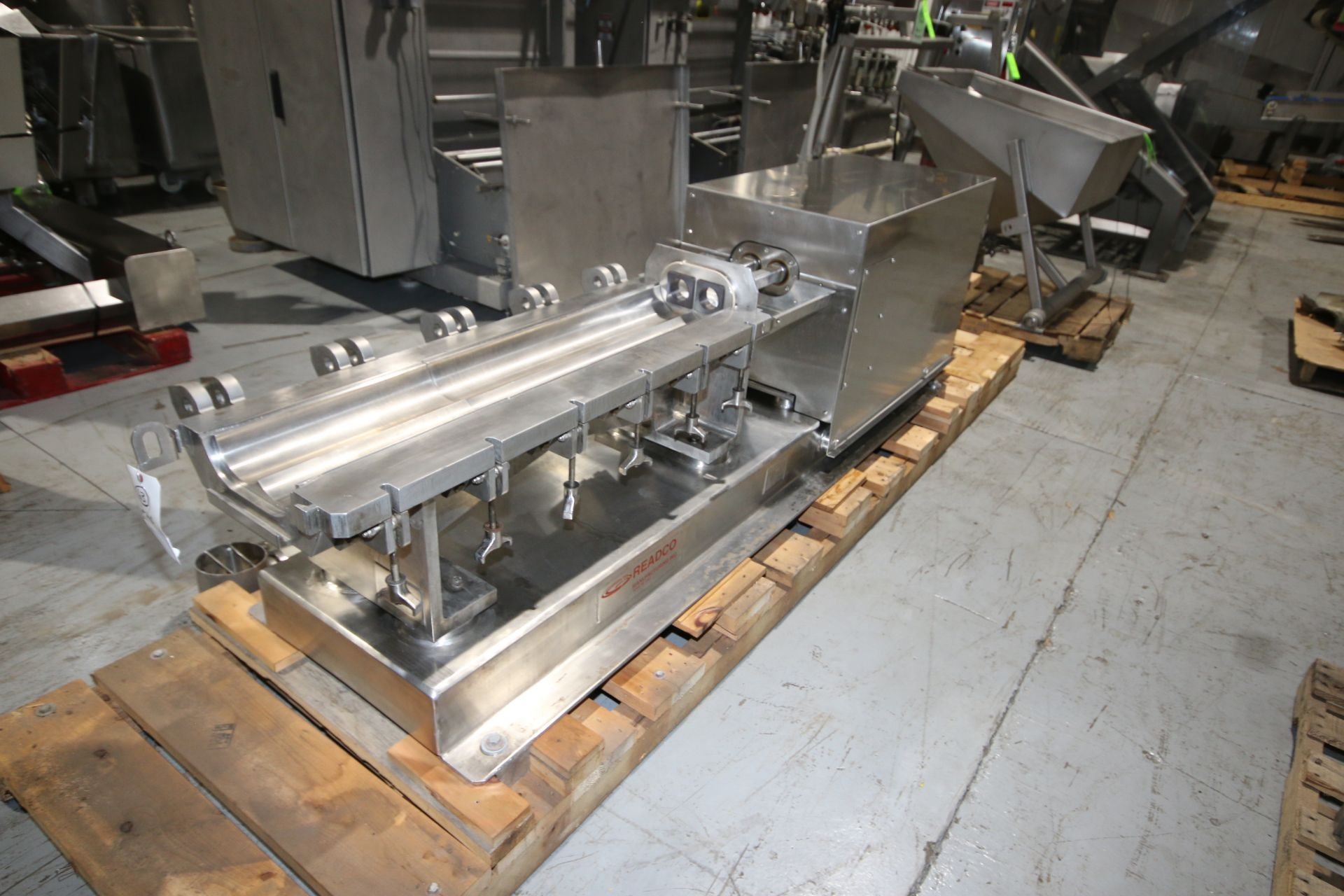 Lot 10 - Readco S/S Continuous Mixer, Machine: 5 C.P., S/N 108512, Weight: 3,300 lbs, P.O. Number: