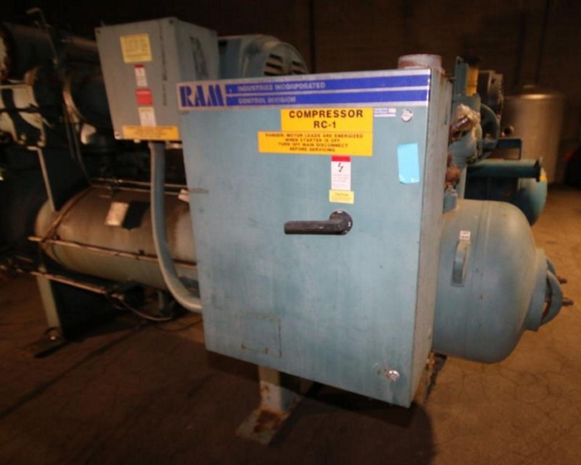 Lot 21 - 2000 Frick hp 350 hp Screw Ammonia Compressor, Frame Model RWF 134 H, SN F0057UFMNLIGA03, Screw Head