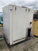 Used Ingersoll Rand 40 HP Air Compressor, Model SSR-EP 40SE, 153 CFM, 125 PSI, 40 HP Nomical Drive