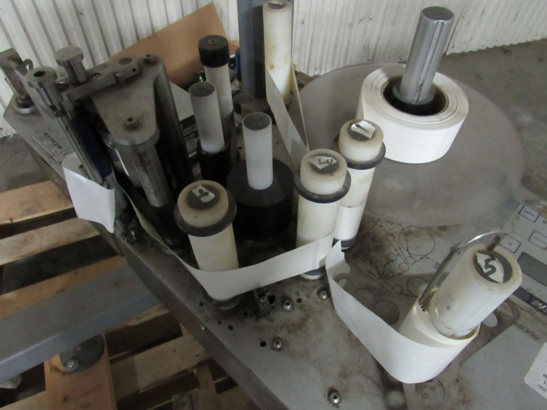 Markem CE Label Printer Applicator for Boxes on Tripod -- - (LOCATED IN IOWA, RIGGING INCLUDED - Image 7 of 10