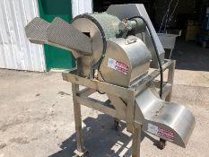Urschel GRL French Fry Cutter, Model GRL, S/N 675 with Baldor 2 hp Motor, 1725 RPM, 208-230/460 V,