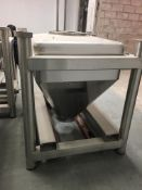 Tote Systems Stainless Steel Product Bins. 560 Liter, 148 Gallons, Approx 20 CFT. As shown in