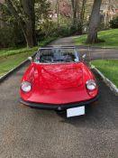 1978 Alfa Romeo Spider Veloze Iniezione convertible. Inline 4-cylinder engine with manual 5 speed