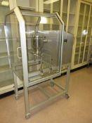 LB Bohle Bin Blender. Model: LM-40, Serial: 0108375001 A-Nr 72599. Comes with one 5 Liter bin. As