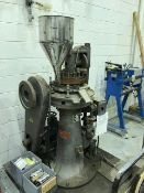 Used Key International Model DC-16, Automatic, 16 Station Rotary Tablet Press. S/S Product Feed