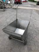 "16"" / 24"" - 19"" Deep S/S Rollaround Cart (Located Port Byron, NY)"