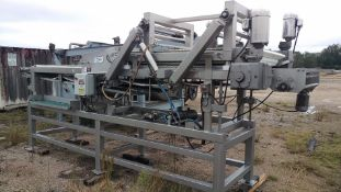 """2008 FPEC 40"""" Mega Meat Press Dual Belt, Compression, Dual Flat and Parallel, Rigid Hinged Section"""