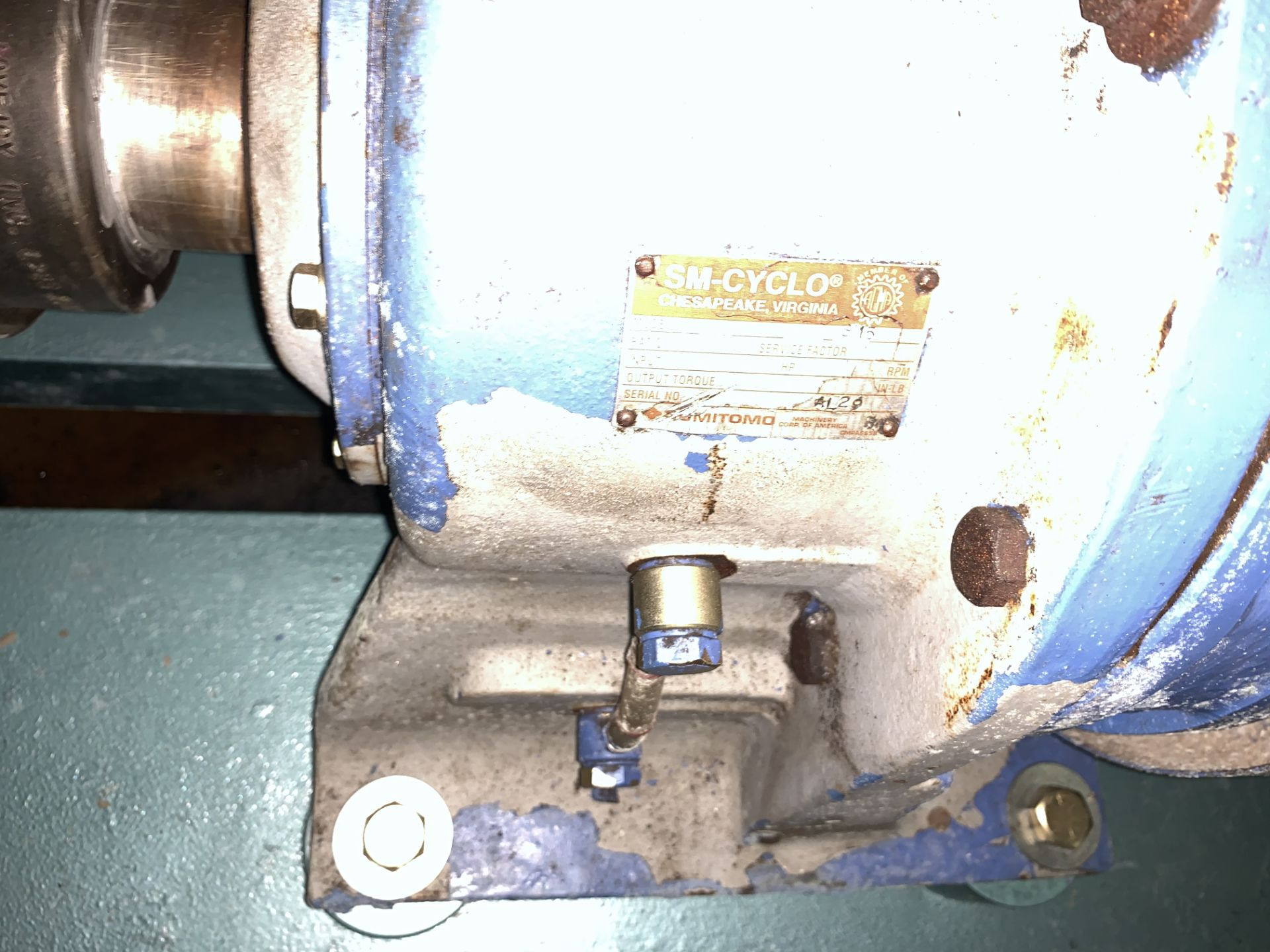 """Lot 260 - Viking Pump, 6"""" Inlet/Outlet, ModelM-125, Serial #10850336 with 60HP GE electric motor, 460V, 1750"""