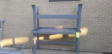 Metal Table (Located Elk Grove, IL) (Load/Rig Fee $25.00)