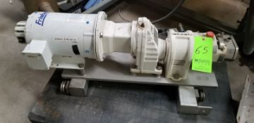 "Fristam Positive Pump; 1""/1 ""; Model: FL 215 (Located Elk Grove, IL) (Load/Rig Fee $50.00)"