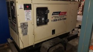 Ingersoll Rand Portable Generator, Type G25, S/N 002503002136, 480 V, 3 Phase (2003) (Located Elk