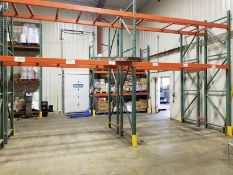 Pallet Racking; two levels by three pallets each; 8 sections (Located Elk Grove, IL) (Load/