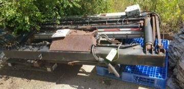 Side Aluminum Platform for Truck (Located Elk Grove, IL) (Load/Rig Fee $100.00)