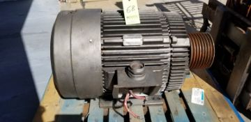 Electric Motor 100 HP; 1785 RPM; 460 V (Located Elk Grove, IL) (Load/Rig Fee $100.00)