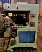 CN-150-4 4-Color Large Image Pad Printing Macine, CN-150 - Is a large part pad printin Machine. It