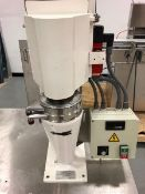 CEPA Continuous Centrifuge, Model LE, S/N 402 26116, 40,000 RPM, 5 - 30 Litres per Hour, Inside