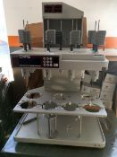 Distek Evolution 6100 Dissolution Tester. Model 6100. As shown in photos. (Located Central New