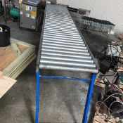 "Roller Conveyor 12"" Wide 10 Ft Long (LOCATED IN IOWA) - Loading Fee $500.00 ***EUSA***"