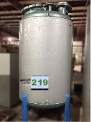 Howard Corporation 500-Gallon Stainless Steel, mild steel Jacketed Reactor for pressure and