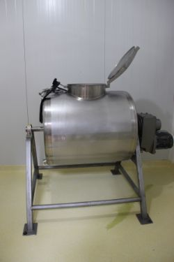 2015 SPRINKMAN 100 GALLON S/S BUTTER CHURN, S/N E6159, 50 GALLON WORKING VOLUME, ATMOSPHERIC VESSEL,