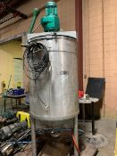 200 Gallon Chocolate Melt Tank - Jacketed with built in Heater and 5HP