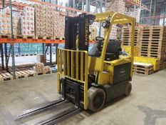 "Hyster Aprox. 4,800 lb. Lift Truck, Model E50XN-33, S/N A268N09162K with 3-Stage Mast, 189"" Lift and"