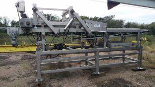"""2008 FPEC 40"""" Mega Meat Press, Model 40"""" MMP- Dual Belt, compression. Rigid"""