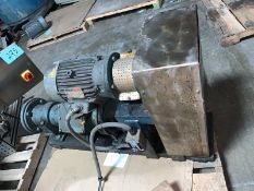 Moyno Progressive Cavity Pump (was used for pumping syrup) Cyco Gear Box and Chain Drive Speed