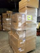 Whole pallet air filters: (40) New filters. Grainger#: 2HYW6(5); 2HYW9; 52RR04; 6B690(2); 52RR08(2);