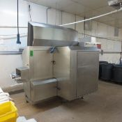 2008 Scanvaegt All S/S Portioning Machine, Type B-55, S/N 80.0769, Voltage 3X230V+PE, Control
