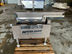 2014 Magnum Tape Machine, Model CFPS-700, S/N I214-206-21878BF (Located Hanford, CA)