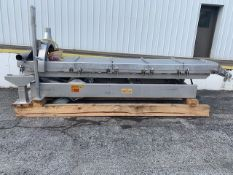 Key ISO 10' L Shaker Conveyor, Model 425122-1, S/N 97-27979 with Stainless Legs and Springs (Located