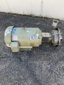 "Fristam 20 HP Positive Displacement Pump, Model FPX3542-165, S/N 354273155 with 2.5"" x 3"" Clamp Type"