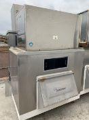 Hoshizaki Ice Maker, Model KM-1301SRH, S/N V00883C, 208-230/60/1 (3 Wire with Neutral for 115 V),