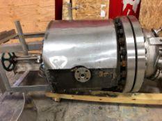 One pre owned Titan 200 Liter Hastelloy R-101 Reactor. Design Pressure PSIG: Vessel - 300/FV, Jack