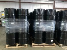 100 Never Used Closed Top 55-Gallon Drums (Bid for each drum (LOCATED IN IOWA) - Palletizing Fee $