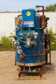 HURST 15-HP BOILER, MODEL JR15A-10U, S/N 050040781, LP GAS, MIN 600 MBH, MAX 630 MBH, 115 V, 1 PHASE