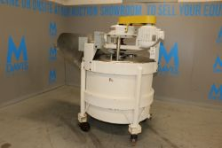 Aprox. 250 Gal. S/S Chopper Tank, with 3 hp Agitation Motor, 1750 RPM, with S/S Infeed Chute,
