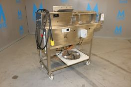 "S/S Shredder, with Aprox. 18-1/2"" Dia. S/S Blade, Mounted on S/S Portable Frame (NOTE: May be"