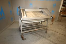 "Nothum S/S Mesh Conveyor System, M/N NRP-40, S/N 40630798, with S/S Mesh Conveyor Belt, Aprox. 40"" W"
