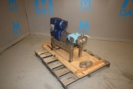 Waukesha 1/2 hp Positive Displacement Pump, M/N 30, S/N 105985, 200-230/460 Volts, 3 Phae, with