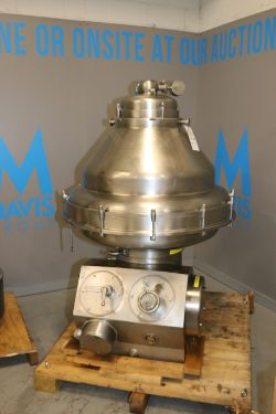 De Laval S/S Separator, M/N MRPX, Bowl S/N 2926003, with S/S Separator Bowl, with 22 Kw Motor,